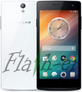 Oppo R827 Flash File via SP Flash Tool Oppo Find 5 Mini