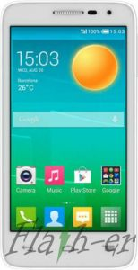 How To Flash Alcatel One Touch Pop D5 5038E Firmware File via SP Flash Tool