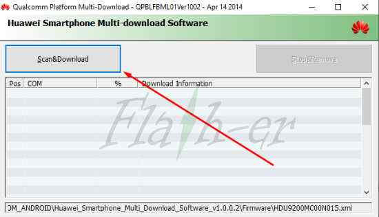 How to Flash Huawei Y6 MRD-TL00 Firmware via HM-Tool